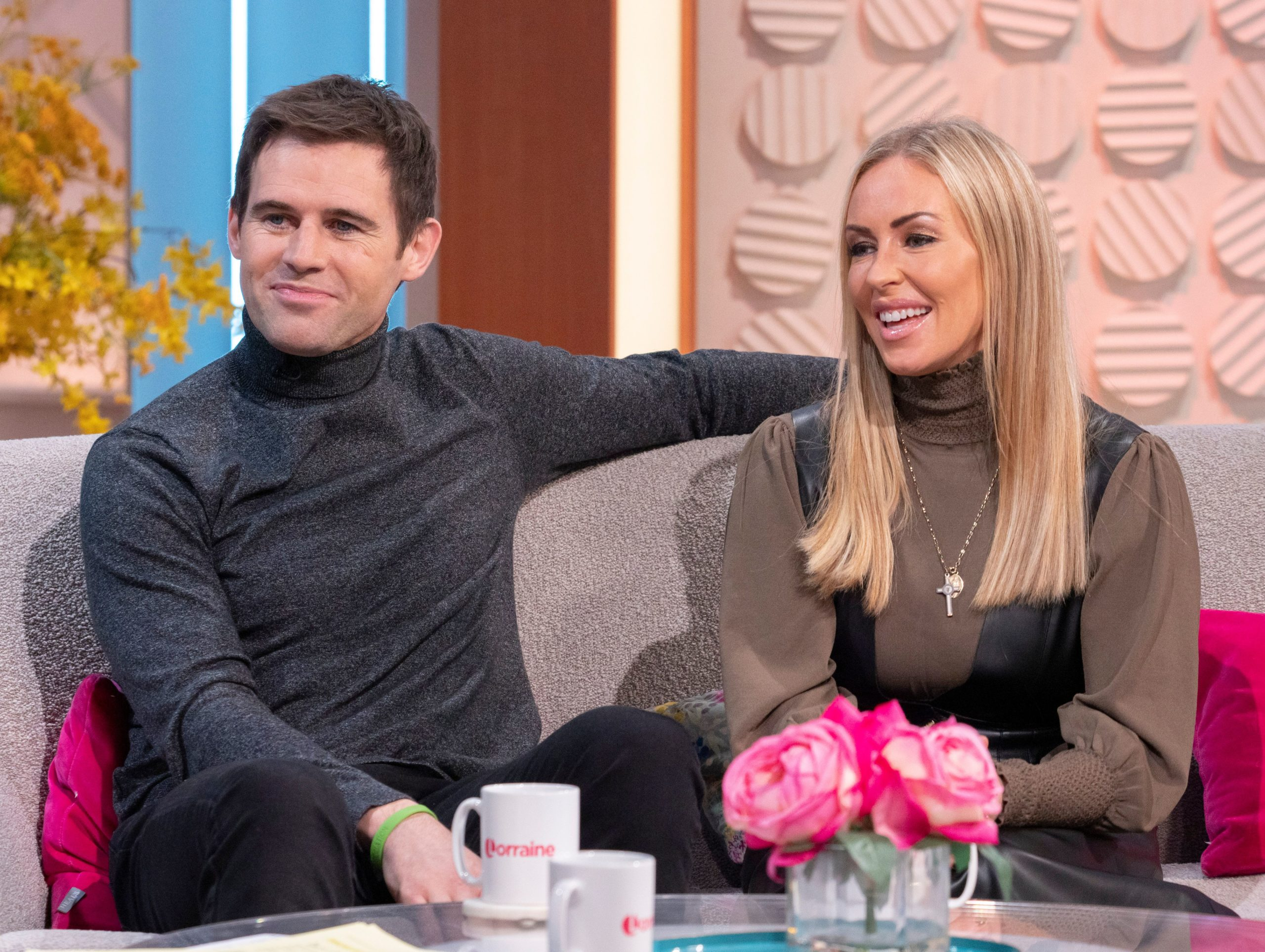 Brianne delcourt and Kevin Kilbane