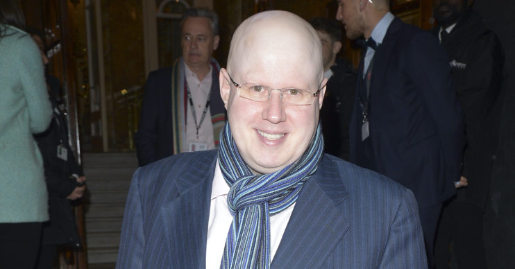 Matt Lucas grows a moustache for the first time