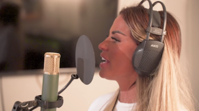 Katie Price has teased another attempt to crack a singing career