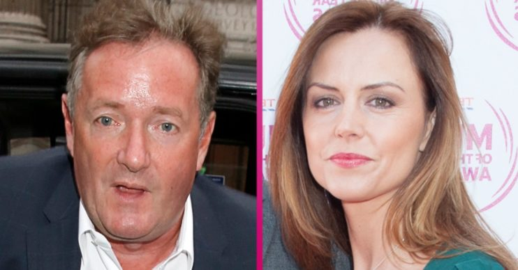 Piers Morgan and Beverley Turner