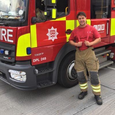 Tony discipline fireman