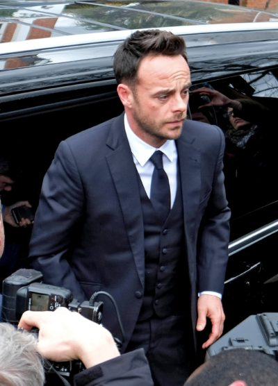 Ant McPartlin arrives at court