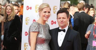 declan donnelly with the mother of his daughter ari astall