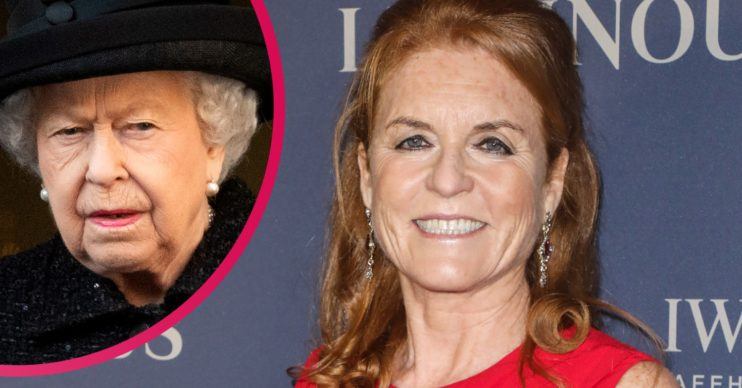 When Fergie Met The Monarchy, Queen and Sarah Ferguson