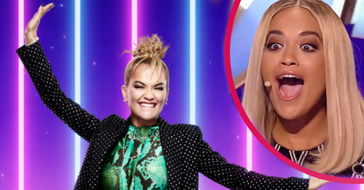 Rita Ora blasts trolls on The Masked Singer