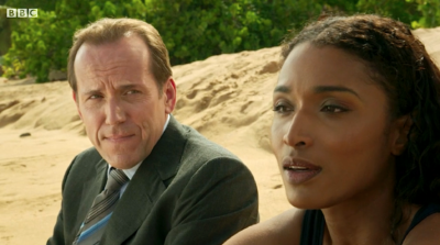 Fans were in tears at RIchard Poole's return to Death In Paradise
