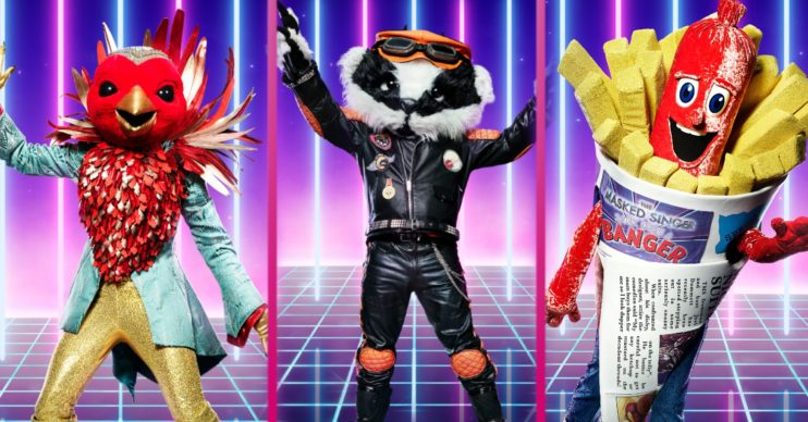 The remaining characters in The Masked SInger