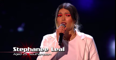 The Voice UK 2021 fans in tears over contestant Stephanee Leal