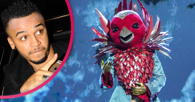 Does condom clue give away Aston Merrygold is RObin on The Masked Singer