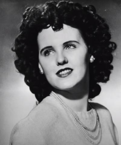 Elizabeth Short's muder was dubbed 'the Black Dahlia'