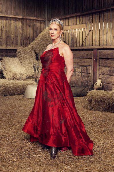 lady c on celebs on the farm