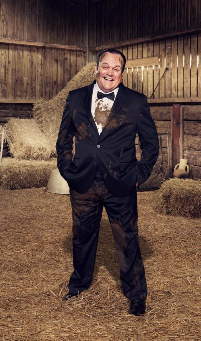 shaun Williamson on celebs on the farm