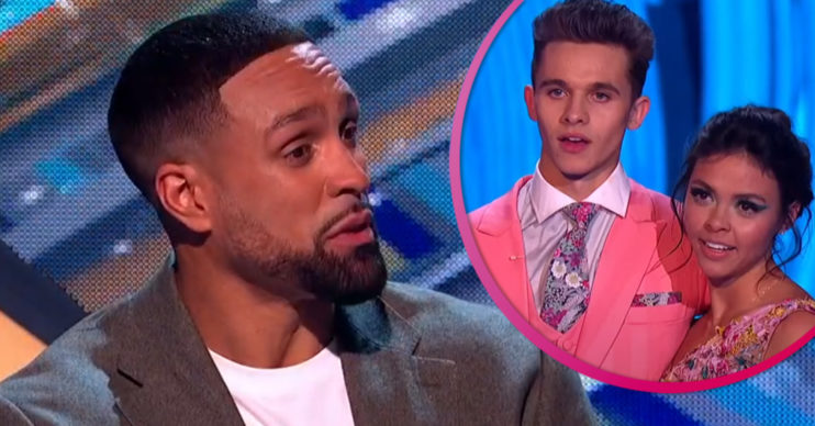 Dancing On Ice judge ashley Banjo