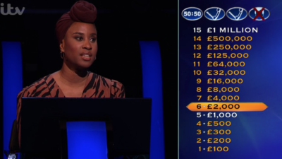 Viewers fell in love with Mainga on Who Wants To Be A Millionaire