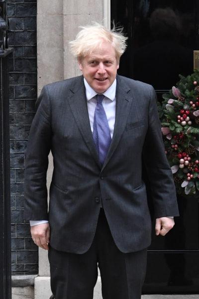 boris at Downing Street
