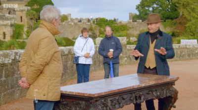 Antiques Roadshow table evaluated at £120k