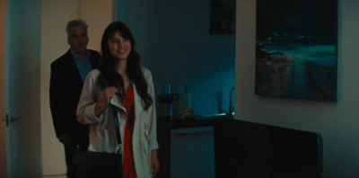 Zahra Ahmadi as journalist Sadie in Marcella