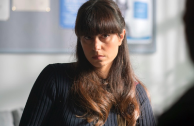 Zahra Ahmadi as Det Con Mari-Luz Garcia in Innocent on ITV