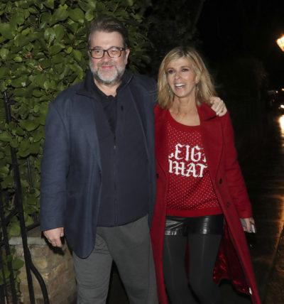 Kate Garraway said she hasn't seen her husband Derek since Christmas