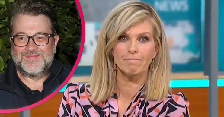 Kate Garraway said she hasn't seen her husband Derek since Christmas