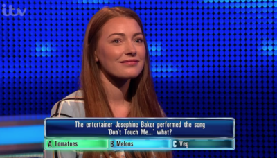 Kim on The Chase