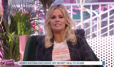 Kerry Katona on Steph's Packed Lunch