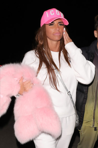 Katie price on a night out