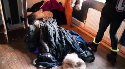 Katie price fur clothing