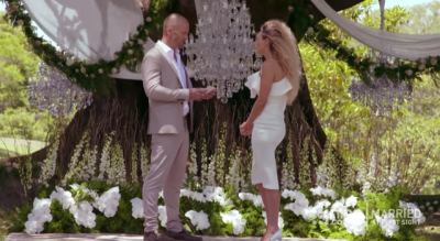 Mike and Heidi in Married At First Sight Australia