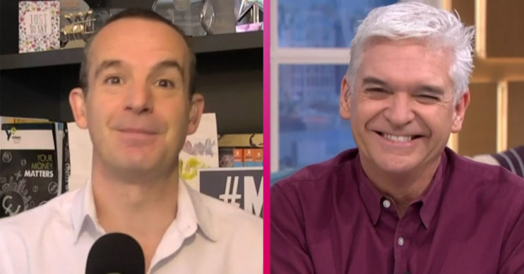 Martin Lewis on This Morning with Phillip Schofield