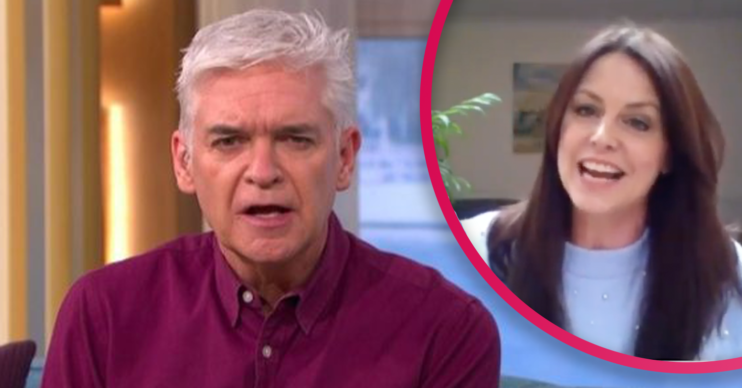 this morning Phillip Schofield
