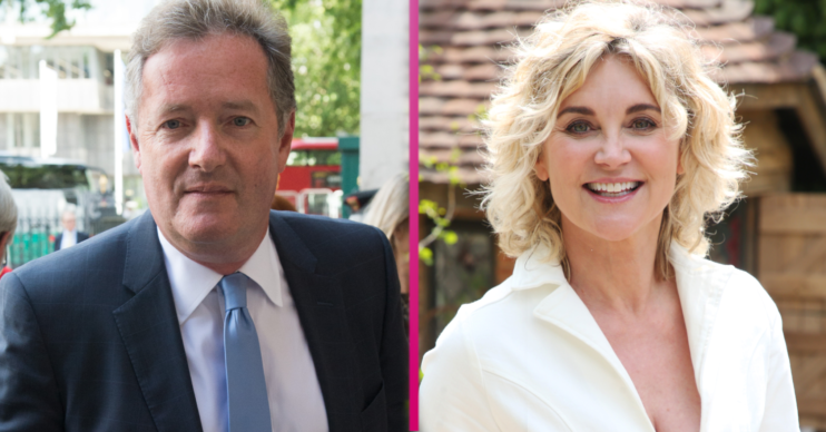 Anthea Turner and Piers Morgan have fallen out
