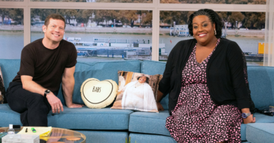 Dermot and Alison couldn't stop laughing at Lulu's unusual phobia