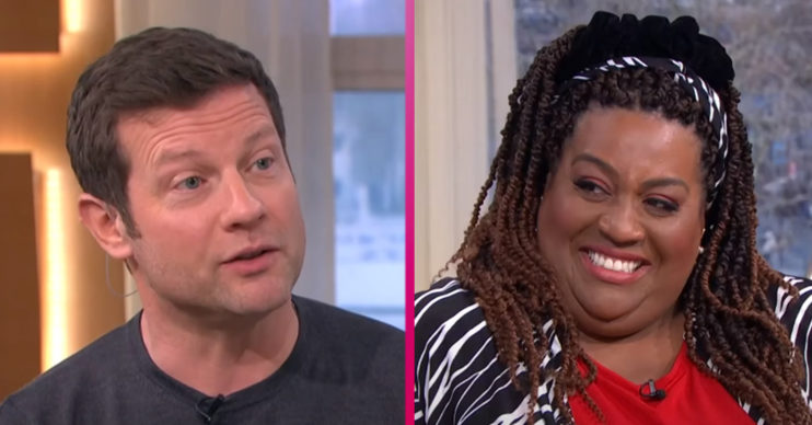 Dermot O'Leary and Alison Hammond on This Morning
