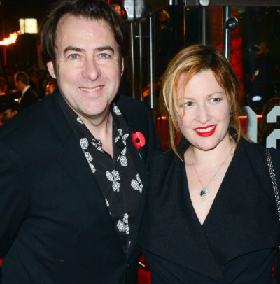 Jonathan Ross from The Masked Singer and his wife Jane