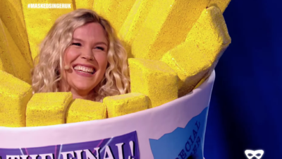 Joss Stone was unmasked as Sausage on The Masked Singer