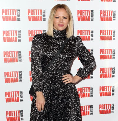 Kimberley Walsh left a message to Louis Smith and his new baby