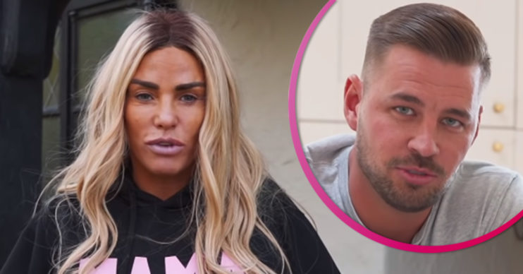 Katie Price and boyfriend Carl Woods
