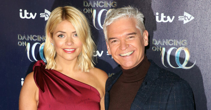 phillip schofield and holly willoughby dancing on ice