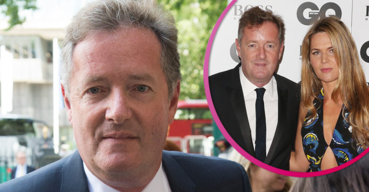 Piers Morgan and wife Celia