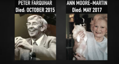 Mr Farquhar and Ann Moore-Martin were both killed by Ben Field