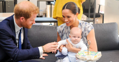 prince harry and meghan markle archie
