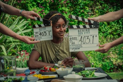 Simona Brown plays Louise in Netflix's Behind Her Eyes