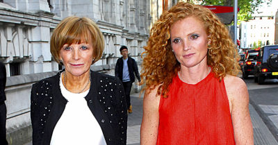 anne robinson with her daughter emma