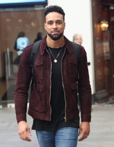 Ashley banjo in the street