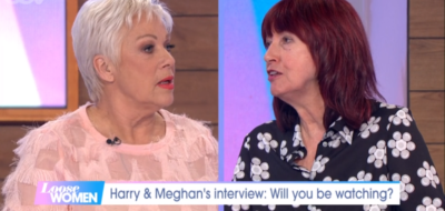 Denise Welch and Janet on Loose Women