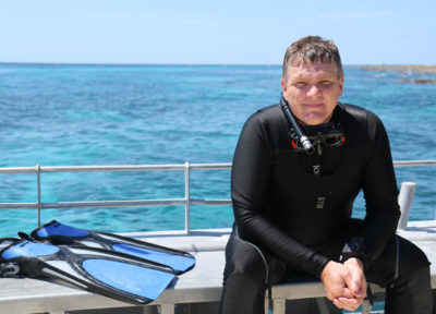 Australian Wilderness with Ray Mears airs on ITV (Credit: ITV)