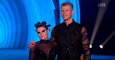 Hamish Gaman on Dancing On ICe