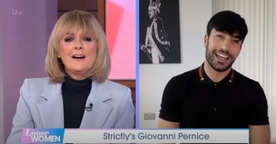 Strictly star Giovanni Pernice on Loose Women