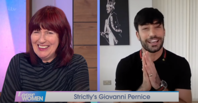 Janet Street Porter and Giovanni Pernice on LW